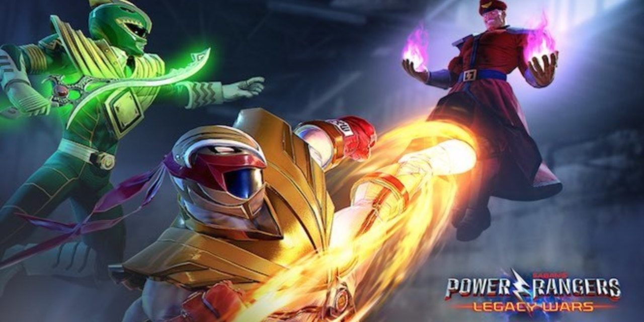 Ryu de Street Fighter se convierte en un…¡Power Ranger!