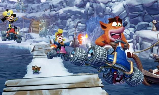 ¡Así lucirá el remake de Crash Racing!