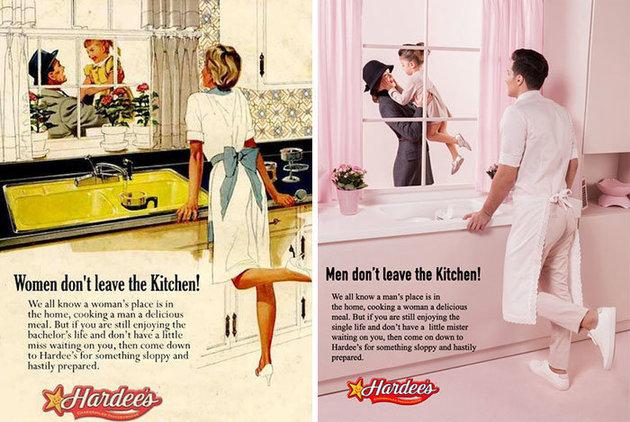 Anuncios vintage son retomados con un ligero cambio de época!
