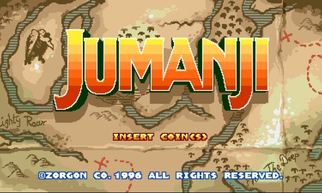 ¿Videojuego estilo 90s de Jumanji?