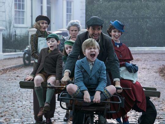 ¡SUPERCALIFRAGILISTICOESPIALIDOSO! Revelan imágenes de la nueva Mary Poppins ¿ya saben quien es?