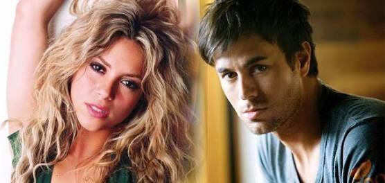 Se viraliza foto de Shakira y Enrique Iglesias de 1997!!!