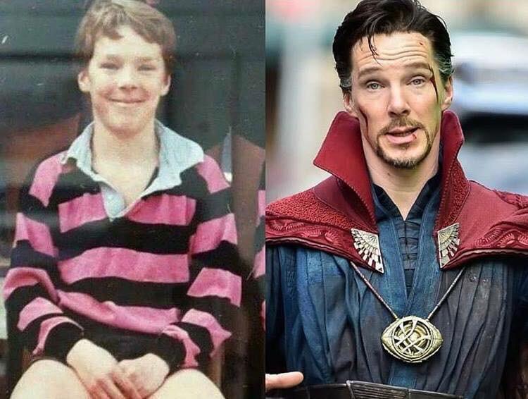 Todo super héroe fue niño, así se veían los AVENGERS!!