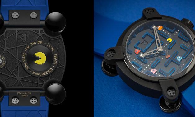 Pac-Man: RJ lanza reloj como homenaje al increíble videojuego ochentero