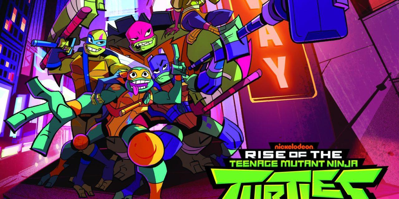 Revelado el tema de la nueva serie: Rise of the Mutant Ninja Turtles