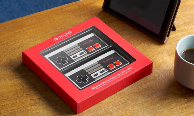 ¡La nostalgia del NES llega al Switch con nuevos controles!