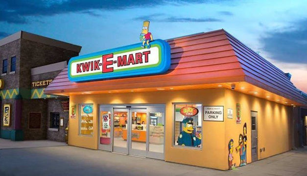 Abre sus puertas el primer Kwik-E-Mart de la vida real