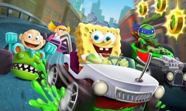 ¡Aquí tenemos el trailer de «Nickelodeon Kart Racers»!