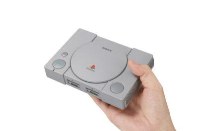 Sony le copia a Nintendo: lanzará el Playstation Classic, una versión mini del original