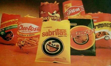 ¡Sabritas lanzó empaques retro en algunos de sus productos y los chavorrucos los amamos!
