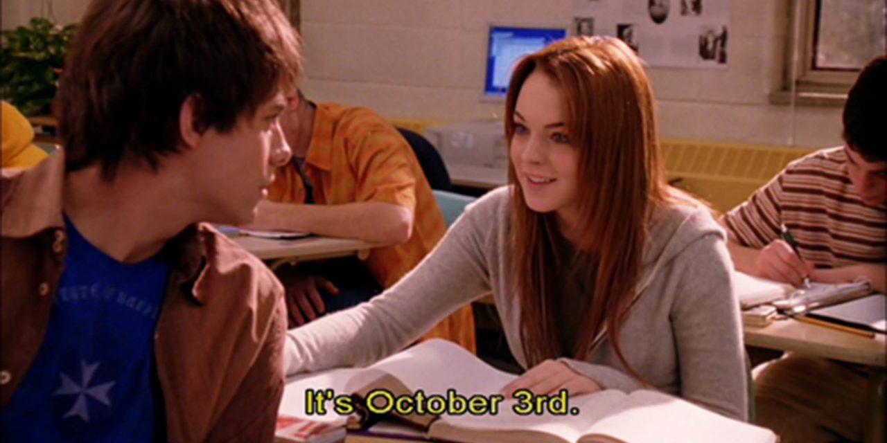 ¡Celebremos el 3 de Octubre con estas 5 escenas eliminadas de «Mean Girls»!