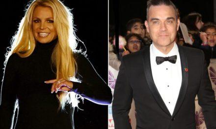 ¿Britney Spears y Robbie Williams cantarán juntos?