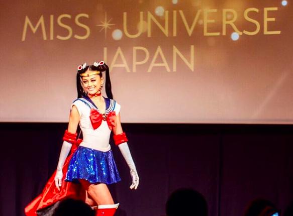 ¡Se vestirá de Sailor Moon para representar a Japón en Miss Universo!
