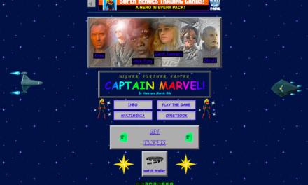 El sitio web de Marvel que todo Chavorruco debe visitar ¡Nos recuerda a los 90´s!