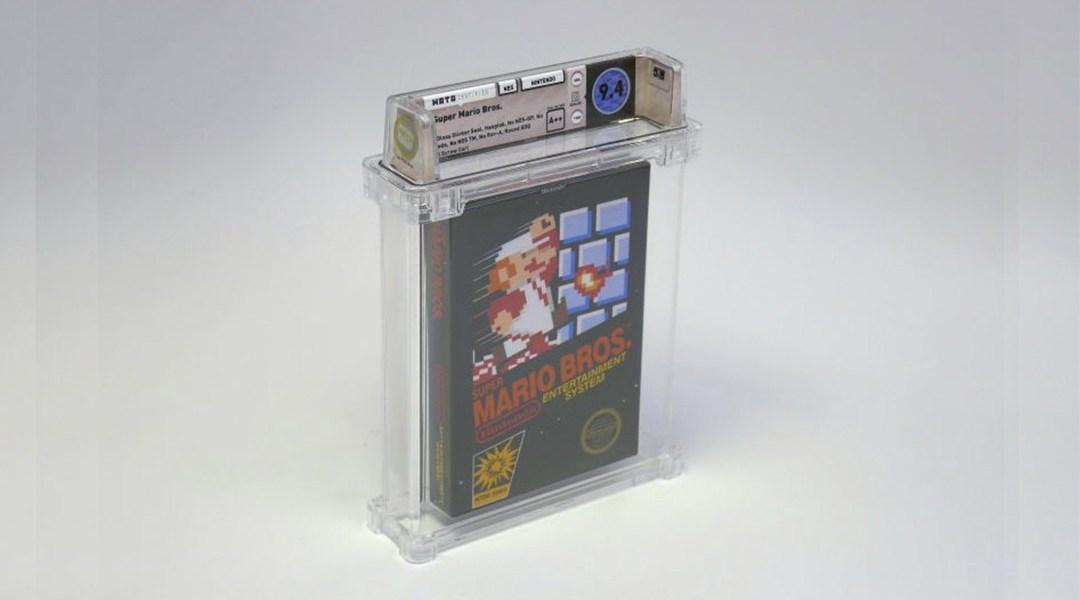 Un cartucho de 'Super Mario Bros.' se convierte en el juego más costoso de la historia