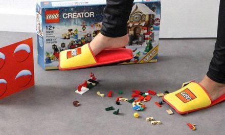 Despídanse del dolor, crean las pantuflas anti-lego