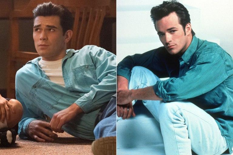 Fallece Luke Perry 'Dylan' de la serie 'Beverly Hills 90210'