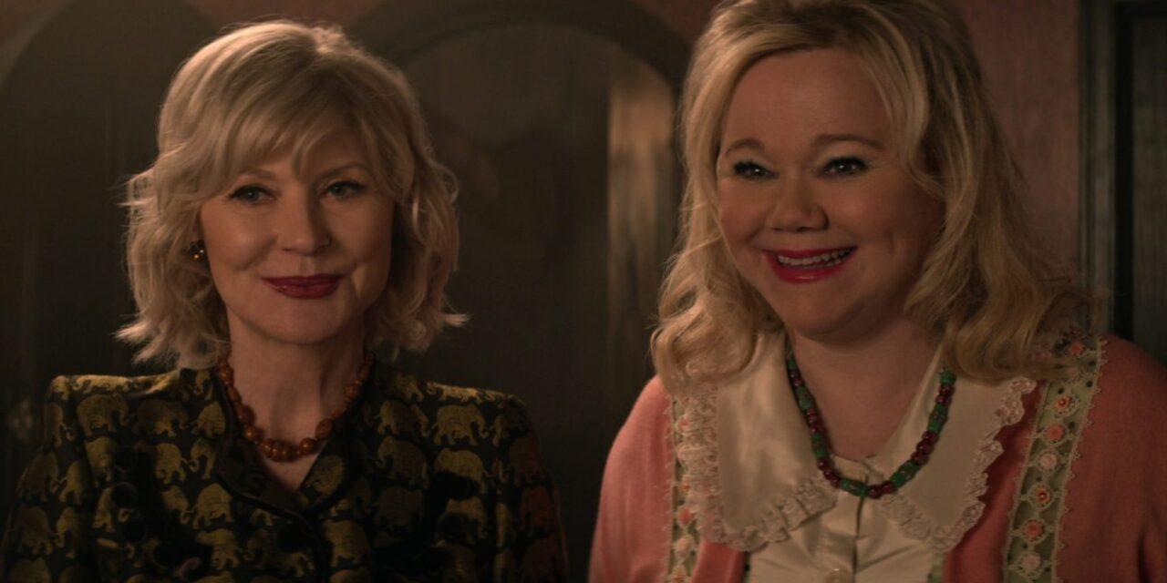 Video de 'Chilling Adventures of Sabrina' nos trae a las tías originales de la serie de los 90