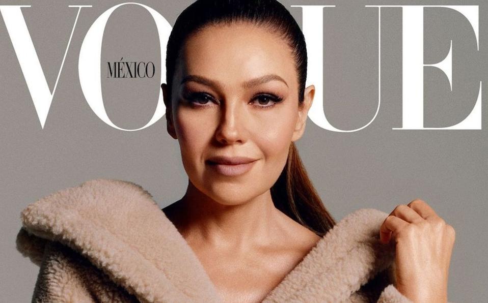 Thalía tiene su primera portada en Vogue